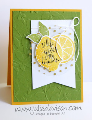 Stampin' Up! Lemon Zest Catalog CASE ~ 2017-2018 Annual Catalog ~ www.juliedavison.com