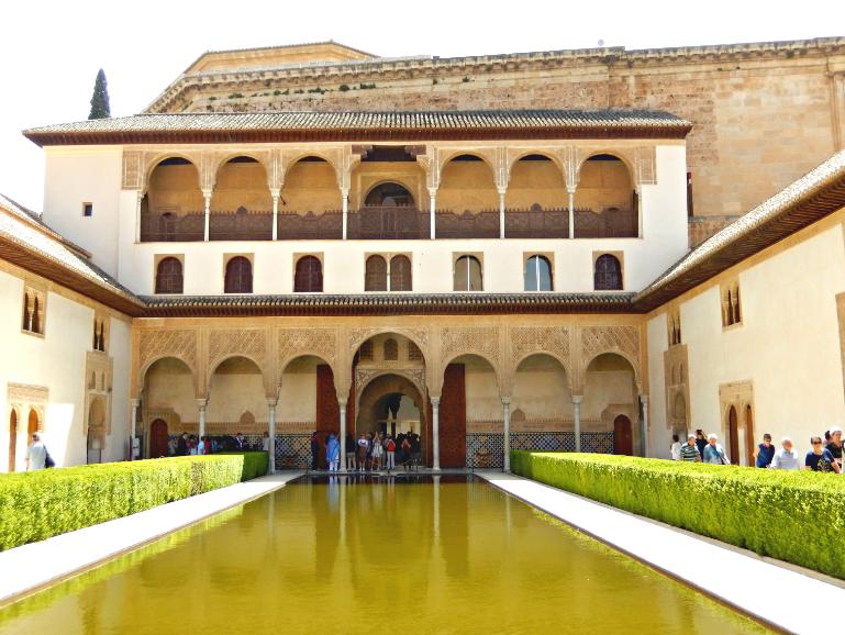 Inside Nasrid Palace Alhambra