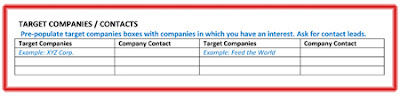 referral interview target companies,