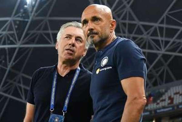 Spalletti and Ancelotti