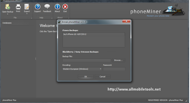 PhoneMiner Trial Version V2.4.7 Free Download For Windows
