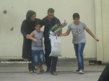 Youcef Nadarkhani sale libre de prisión iraní