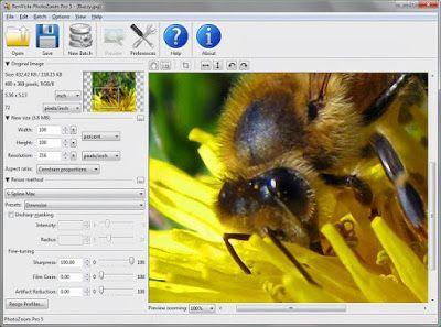 تحميل برنامج تكبير حجم الصور photozoom Pro 5 download