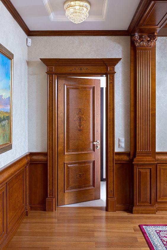 50 Photos Of Unique And Elegant Wooden Main Door Design