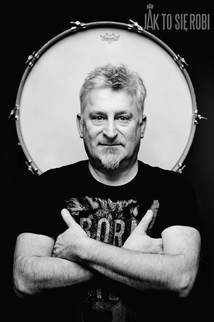 perkusista Krzysztof Poliński
