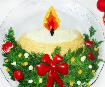 """Вкусные Ёлочки для новогоднего стола: коллекция рецептов, советов и идей, Закуска горячая «Елочка» из горбуши, Закуска «Мандаринки» из сыра с чесноком, Закуска на чипсах: варианты оригинальной начинки, Закусочный новогодний торт из слоеного теста «Мешочек счастья», , Загадываем новогодние желания! Как сделать, чтобы все сбылось, как загадать желания на год Быка, 2021, новый год 2021, новый год 2022, новый год 2023, новогодний стол на год Быка, блюда на год Быка, салаты на год Быка, лучшие салаты на год Быка, новогодний стол 2021, новогодние блюда 2022, новогодние блюда 2023, новогодние салаты,Закусочный рождественский торт из вафель «Сапожок» с креветками, Новогодний омлетный закусочный торт «Снежный чемпион», Салат «Варежка Деда Мороза» с крабовыми палочками и рисом, Салат «Веселый Дед Мороз» с куриной печенью, Салат «Дед Мороз» из картофеля и крабовых палочек, Салат «Дед мороз, красный нос» с красной рыбой и крабовыми палочками, Салат «Дед Мороз» с курицей, ветчиной и грибами, Салат «Дед мороз с подарками» из крабовых палочек и риса, Салат """"Елочная игрушка"""" с сухофруктами и орехами, Салат «Ёлочный шар» с куриным филе и свеклой, Салат зимний «Снегирь» с рисом и ветчиной, Салат «Новогоднее чудо» с лососем, Салат «Новогодний бал» с курицей шампиньонами и черносливом, Салат новогодний «В лесу родилась ёлочка» с куриной грудкой, Салат новогодний «Венок желаний » с куриной грудкой, Салат «Новогодний» — праздничный овощной, Салат новогодний «Первый лист календаря» с креветками, Салат новогодний «Под бой часов» с индейкой, Салат новогодний «При свечах» с колбасой и сухариками, Салат новогодний «Разноцветные шары» с печенью трески, Салат новогодний «Свеча» с обжаренным фаршем, Салат новогодний «Снегирь» с сайрой, Салат новогодний «Сосновая шишка» с копченой рыбой и миндалем, Салат «Новогодняя веточка» с сердцем, шампиньонами и свеклой, Салат «Новогодняя звездочка» с икрой и куриным филе, Салат «Новогодняя игрушка» с крабами или крабовыми палочками, Салат «Новогодняя ночь» """