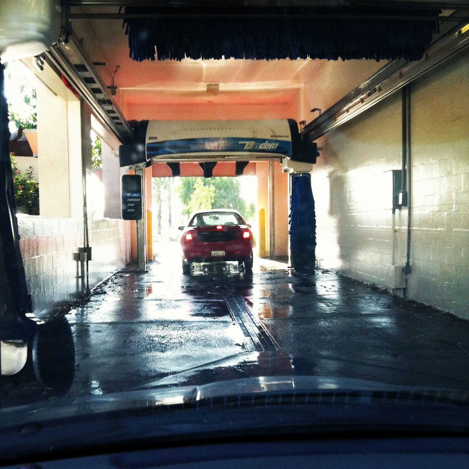 Nourishment Notes: 3 Ways Life is like Going Through a Car Wash