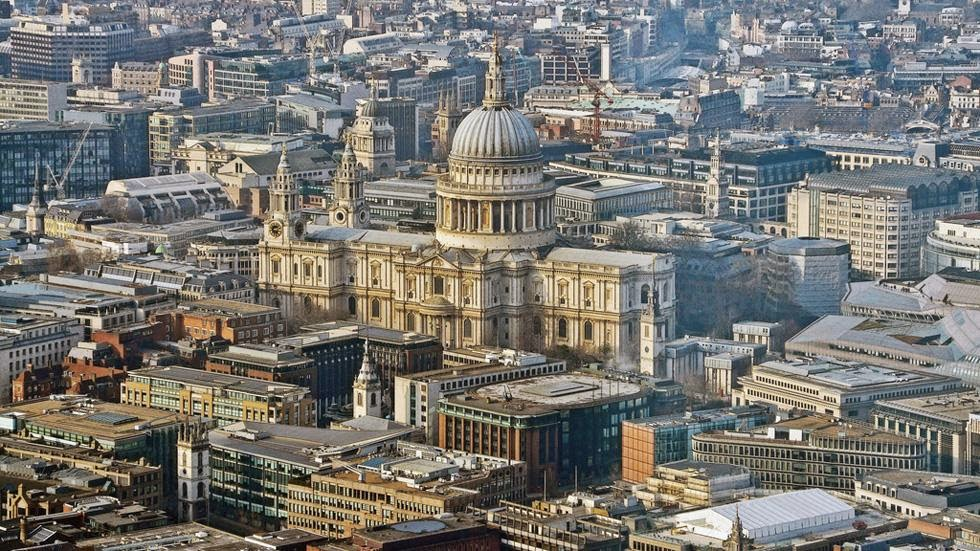 47. London, England - 50 Stunning Aerials That Will Make You See the World in New Ways (PHOTOS)