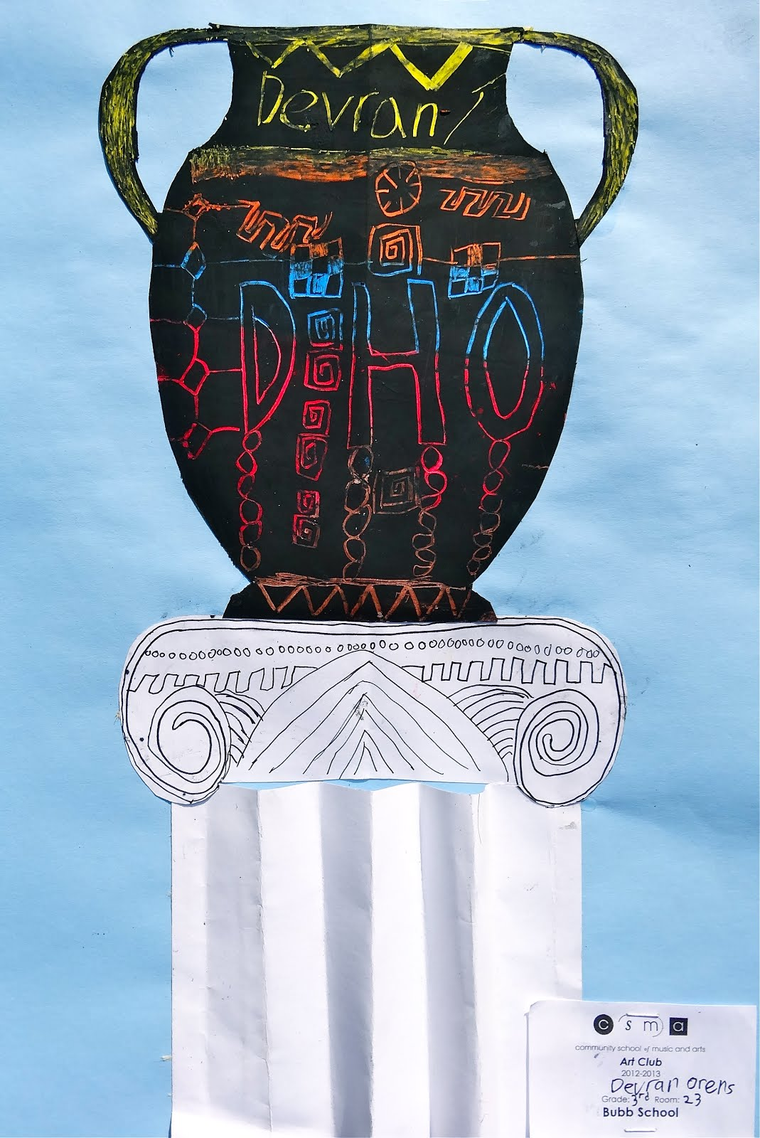 RL Arts Greek Vases