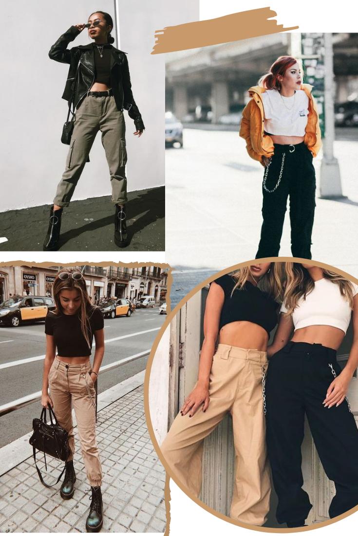 Como usar calças cargo?