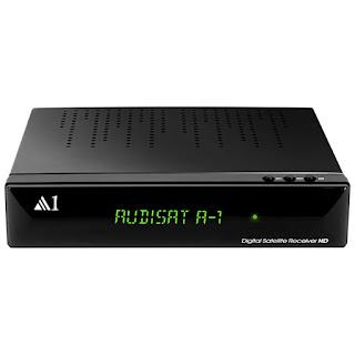 Audisat A1 HD Atualização V.1.3.69 - 18/10/2018