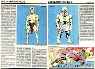 Subterraneos Ficha Marvel