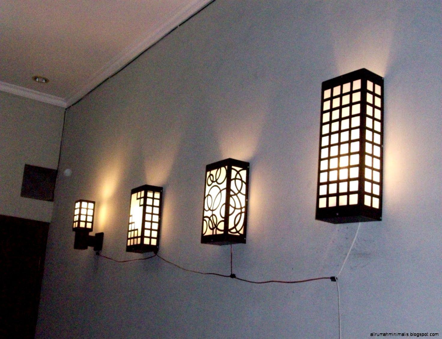 Cara Membuat Lampu Hias Teras Rumah D Kamar Minimalis Cara membuat lampu dinding