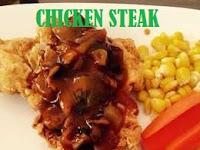 Cara membuat Chicken Steak Rumahan dengan mudah