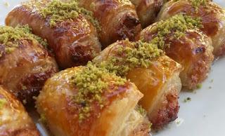 Samsa Dessert (Samsa Milfoy Tatlisi)