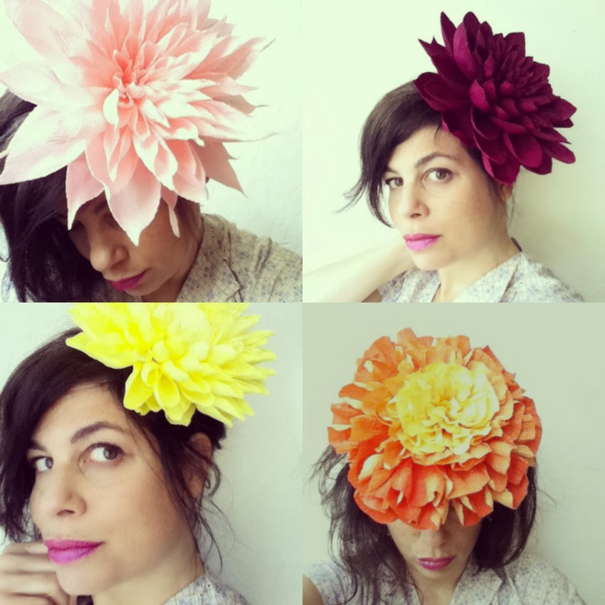 fall flower headpieces