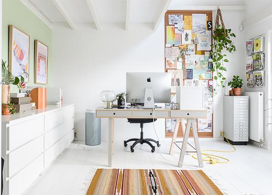 home office, escritório, mesa de escritório, mural de cortiça, decor, home decor, a casa eh sua, acasaehsua, interior design, interior