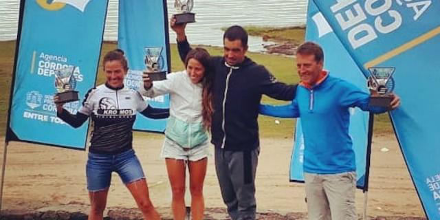 Pablo Ureta fue tercero en Los Molinos