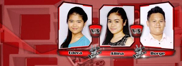 Edera vs Allina vs Borge Team Bamboo Battles on 'The Voice Kids' Philippines