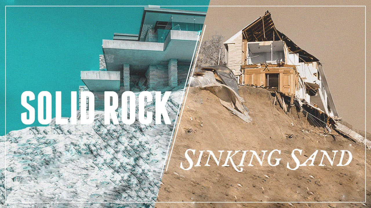 Building A House On Solid Rock