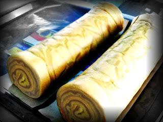 resep cara membuat kue Lapis Legit Gulung