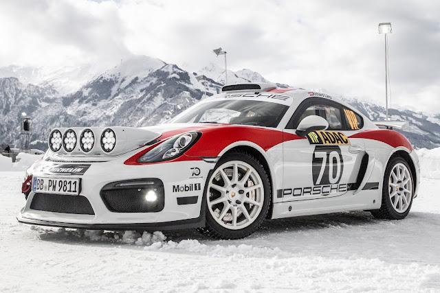 2020 Porsche Cayman GT4 Rallye