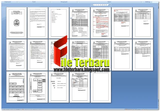 Contoh Administrasi Program Kerja Try Out Tingkat Sekolah Dasar Sd Format Word File Terbaru