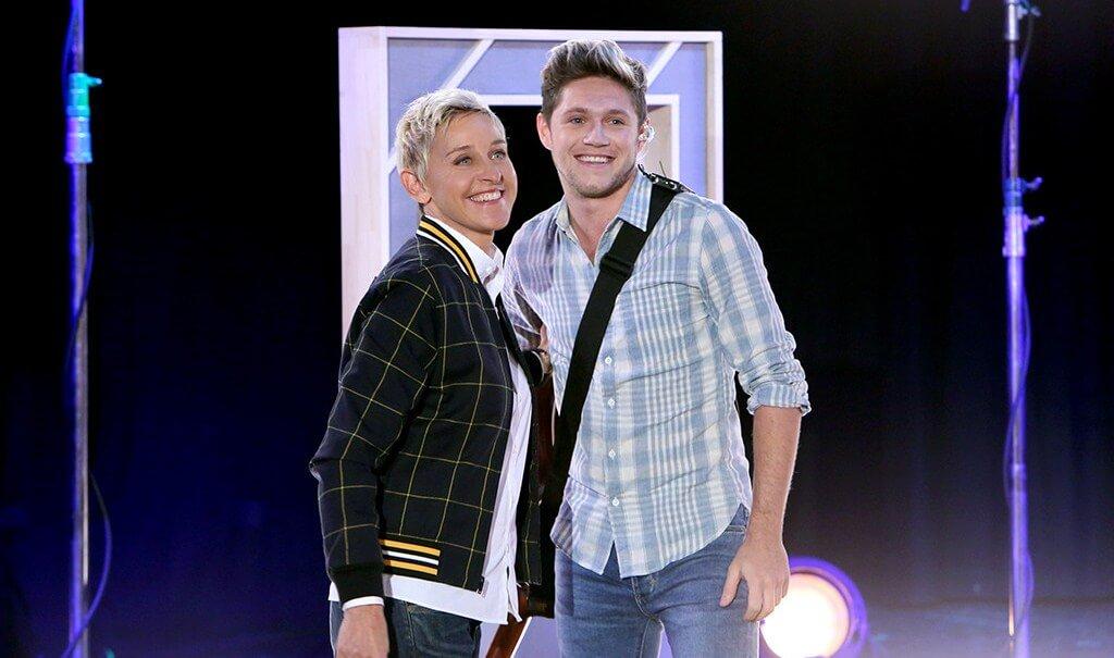 """Niall Horan presenta """"This Town"""" en The Ellen DeGeneres Show"""