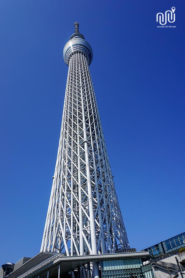 เที่ยวโตเกียว 1 วัน : โตเกียวสกายทรี TOKYO SKYTREE