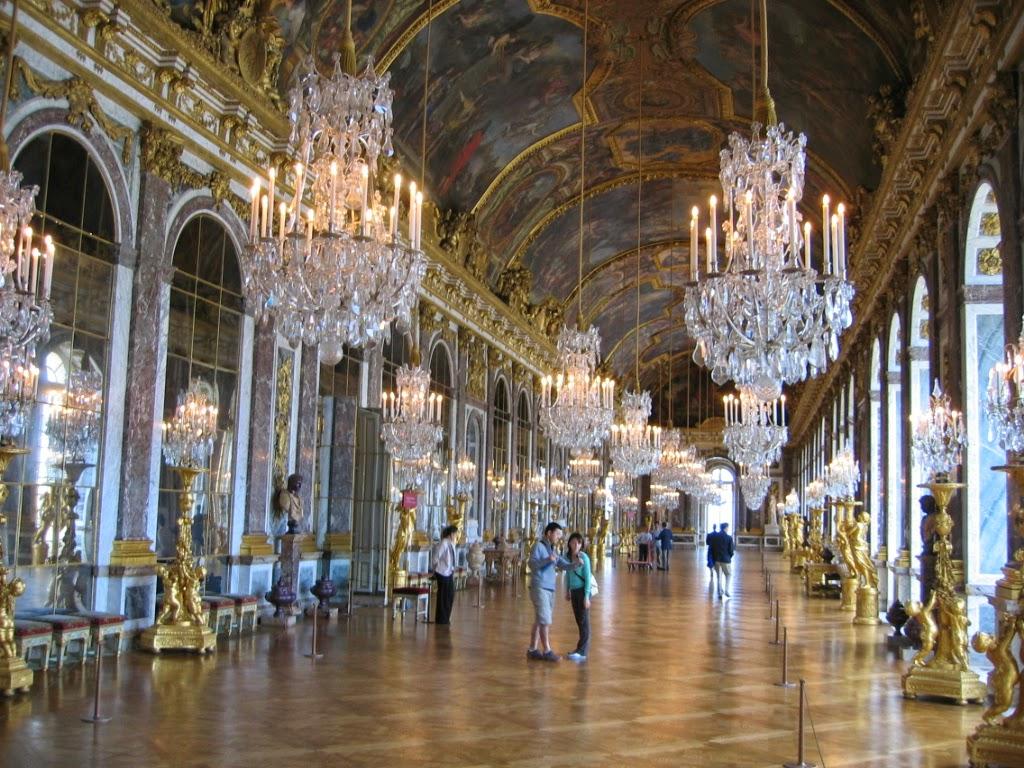 Viajar versailles y ch teau de versailles francia for Salon los espejos