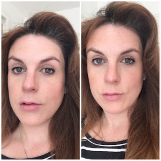 NARS Sun Wash Diffusing Bronzer Before and After