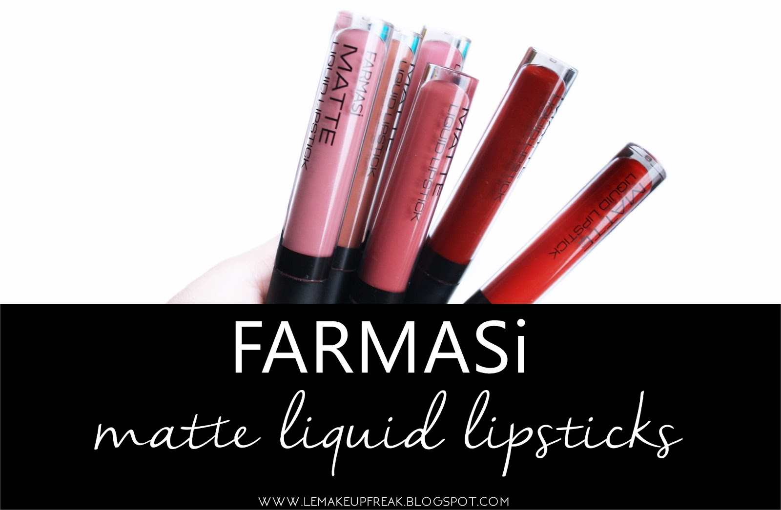 FARMASI Matte Liquid Lipsticks | Le Makeup Freak