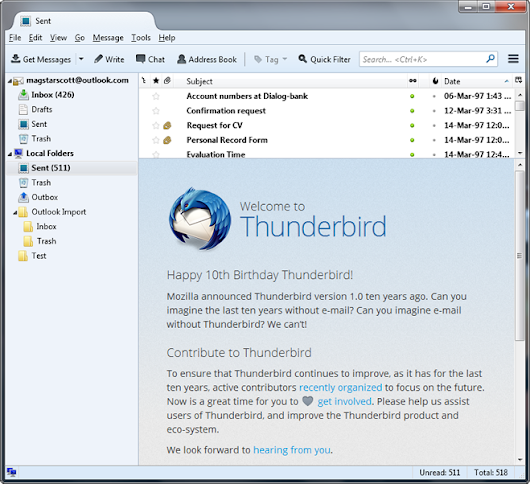 How to Convert Thunderbird data to Outlook?