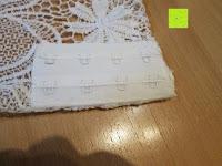 Schlaufen: FeelinGirl Damen Sommerkleid Sexy Tops Tief V Ausschnitt