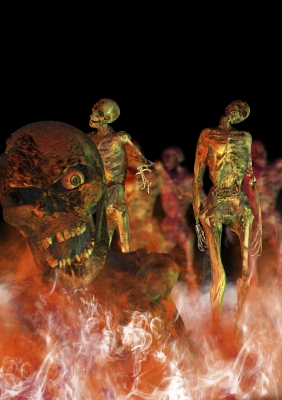 "Image ""Zombies Walking"" courtesy of Victor Habbick / FreeDigitalPhotos.net"
