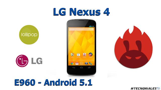 nexus 4 antutu android 5.1.1