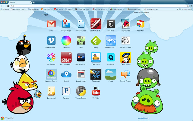 Chrome Themes Download