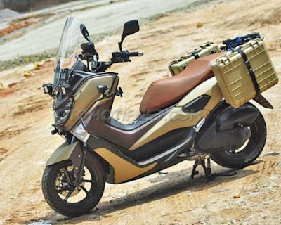 Modifikasi Yamaha NMAX 2015 Adventure