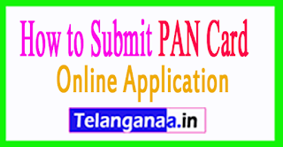 How to Submit PAN Card Application Online