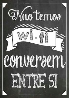 poster não temos wi-fi conversem entre si