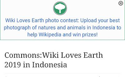 Kompetisi Kontes Foto WiKi MengenaiAlam di Indonesia Berhadiah