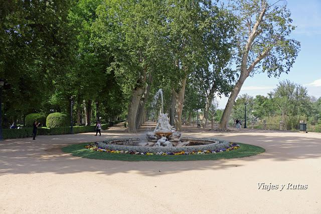 Jardín de la isla, Aranjuez