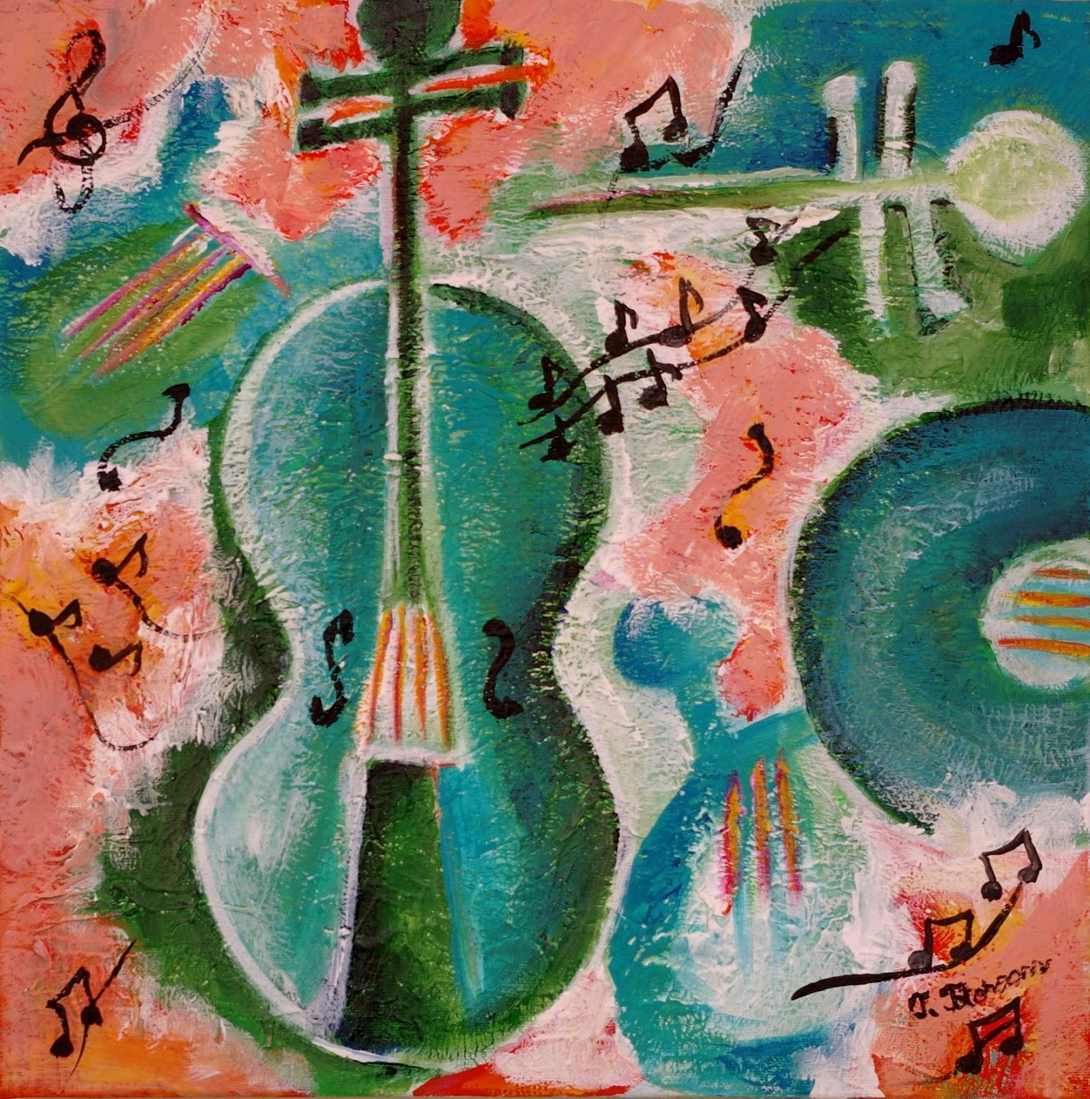 Spanish Guitar By Teodora Totorean