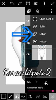Cara Edit Foto Manipulasi Lampu di Picsart Android