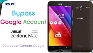 Remove FRP Bypass Asus Zenfone Max Z010D