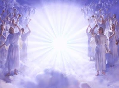 angeles del rayo blanco