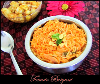 Tomato Biryani