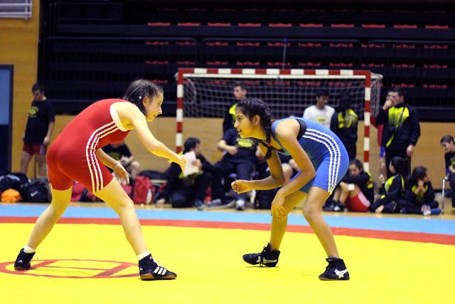 Torneo de Luchas Olímpicas en Lasesarre