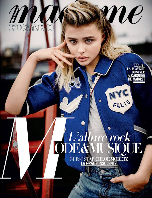 Actress, Model, @ Chloë Moretz - Madame Figaro June 2016