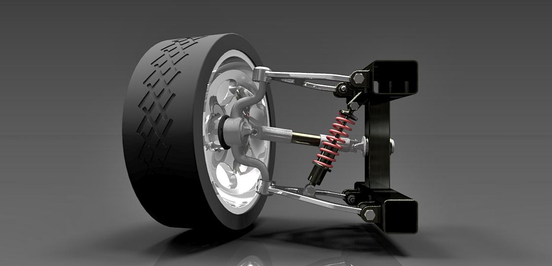 Suspension || Download free 3D cad models #100019